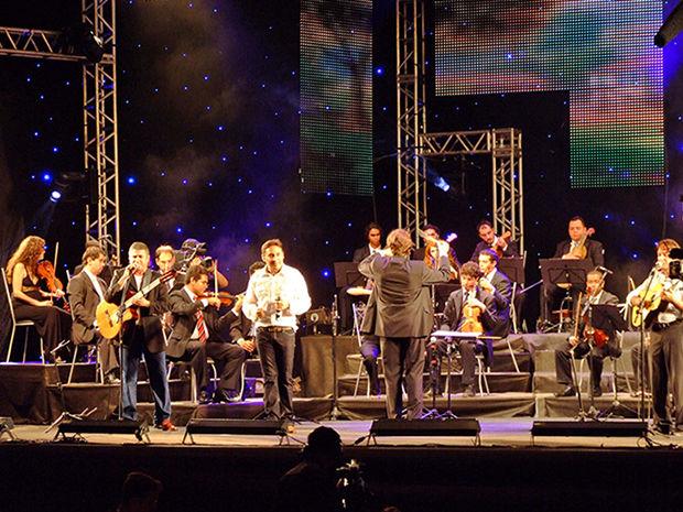 Orquestra de MT e Trio Pescuma, Henrique e Claudinho se apresentam neste domingo. (Foto: Secom/MT)