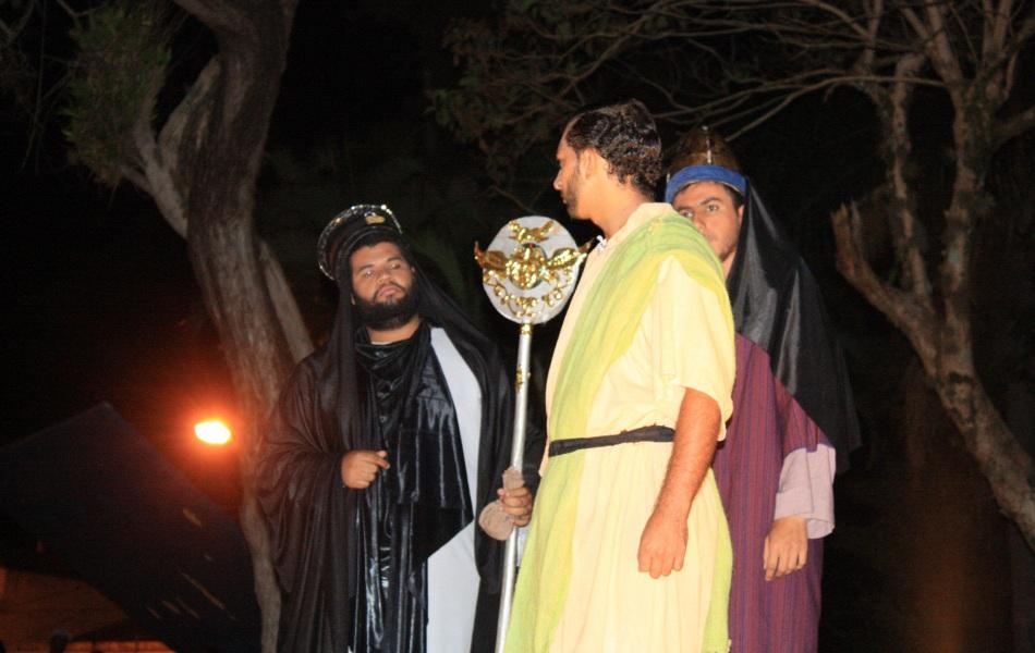 Ator interpretava Judas em encenação da Paixão de Cristo