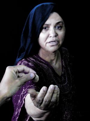 a mulher de roxo: bahia (Foto: Selma Santos/Divulgação)