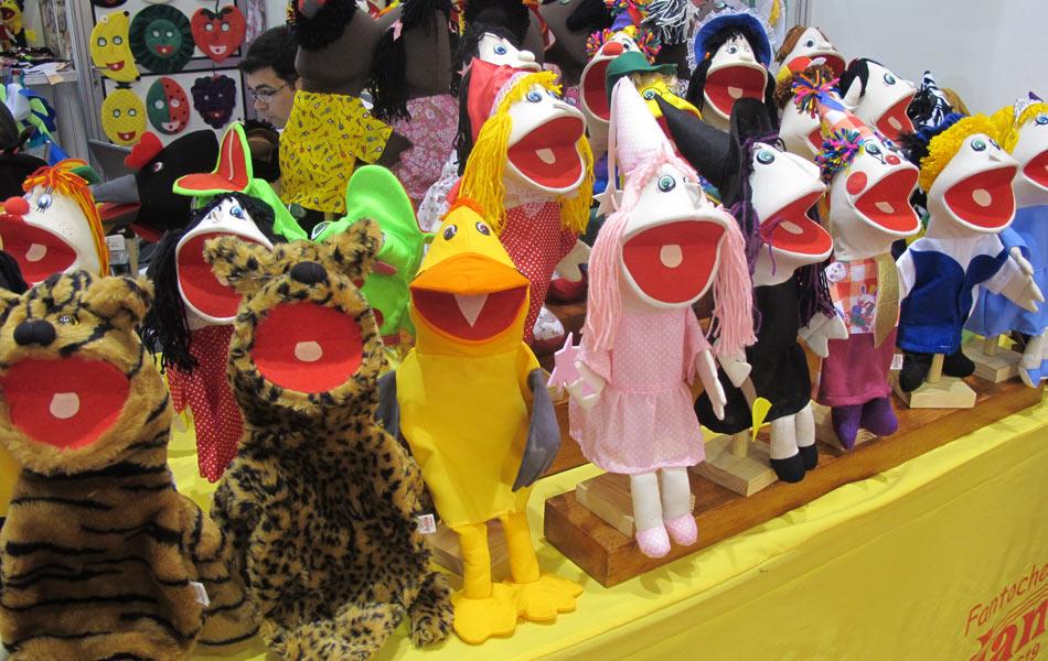 A 29ª edição da Feira Brasileira de Brinquedos (Abrin) começou nesta segunda-feira (9)