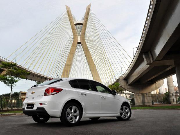 Versão hatch do Cruze abre nova categoria no portfólio da GM (Foto: Divulgação)