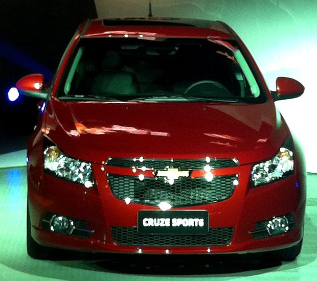Novo Chevrolet Cruze Sport6 (Foto: Priscila Dal Poggetto/ G1)