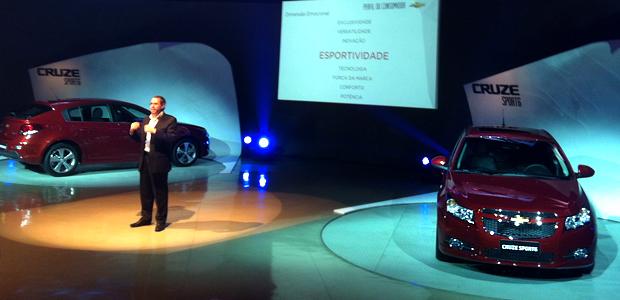Lançamento do novo Cruze Sport6 em São Caetano do Sul, SP