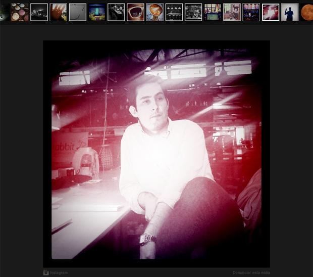 Kevin Systrom, CEO do Instagram (Foto: Reprodução)