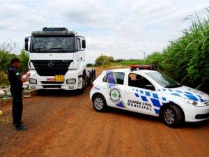 GM localiza veículo de motorista que ficou refém por 8 horas (Foto: Cláudio Mariano)