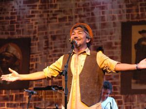 Luiz Gonzaga será cantado na voz de Santanna (Foto: Divulgação)