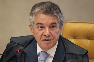 O ministro Marco Aurélio Mello, relator da ação que pede liberação do aborto para feto anencéfalo (Foto: Carlos Humberto / SCO / STF)