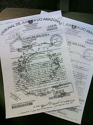 Juiza que teve assinatura falsificada está de férias (Foto: Marina Souza/G1)