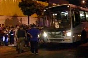 Passageiro atirou contra assaltantes (Foto: TV Diário/Reprodução)