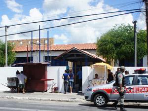 Escola Estadual Enéas Carvalho em Santa Rita Paraíba (Foto: Inaê Teles/G1)