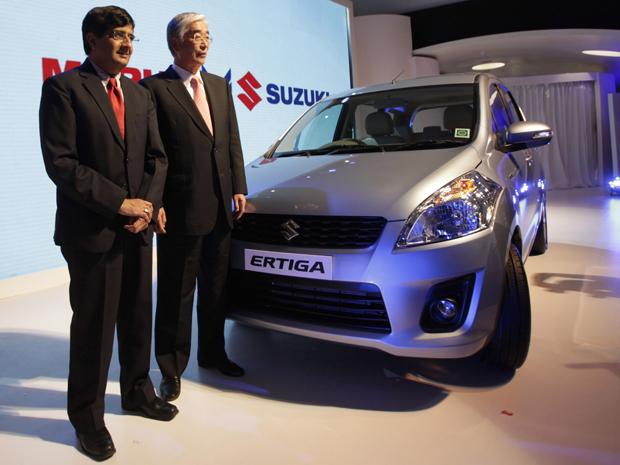 Suzuki; Ertiga; utilitário (Foto: Manish Swarup/ AP Photo)