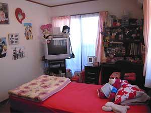O quarto de Gabriela Nichimura, morta após acidente no Hopi Hari (Foto: Arquivo Pessoal / Silmara Nichimura)