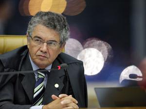 O ministro Marco Aurélio Mello, que relatou a ação que pediu liberação do aborto para feto anencéfalo (Foto: Fellipe Sampaio / SCO / STF )