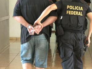 Operação da Polícia Federal prendeu 16 pessoas (Foto: Reprodução RPC TV)