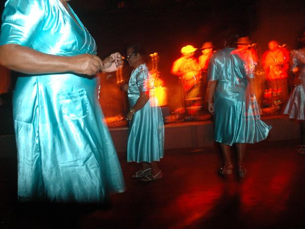 'Quixabeira de Lagoa da Camisa' se apresenta na Sala do Coro do TCA (Foto: Vantoen Pereira Jr./Divulgação)