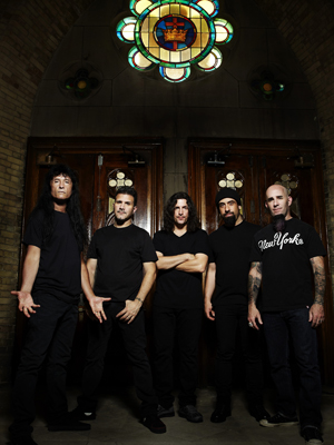 A banda nova-iorquina Anthrax (Foto: Divulgação)