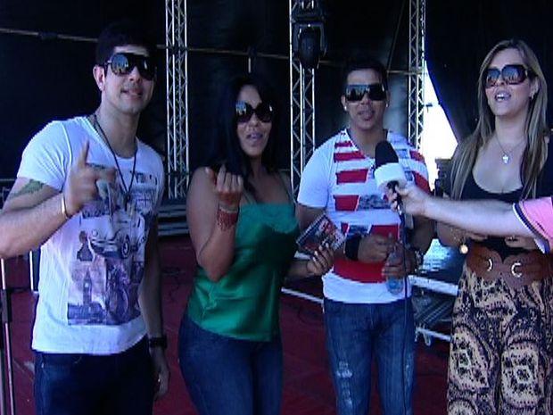 Show da Calcinha Preta  no Forrozão está previsto para começar às 22h30 (Foto: Fredson Navarro / G1)