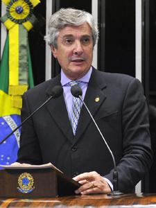 O senador e ex-presidente da República, Fernando Collor (PTB-AL) (Foto: Geraldo Magela/Agência Senado)