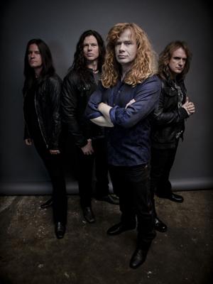 A banda americana Megadeth (Foto: Divulgação)