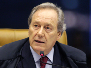 O ministro do STF, Ricardo Lewandowski, relator do inquérito sobre Demóstenes (Foto: Fellipe Sampaio/SCO/STF)
