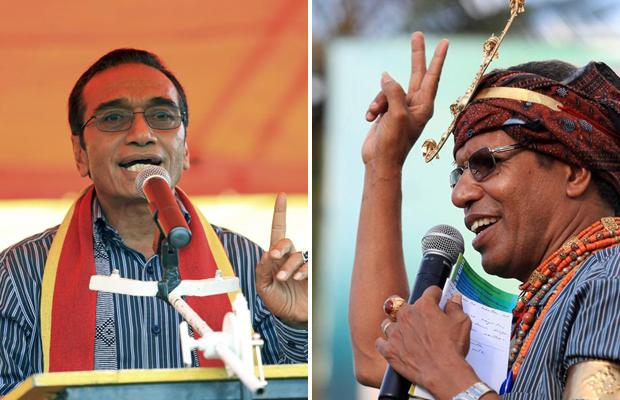 "Os presidenciáveis timorenses Francisco Guterres ""Lulu Olo"" (à esquerda) e Taur Matan Ruak (Foto: Reuters)"