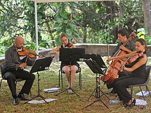Quarteto Encore se apresenta em Olinda (Foto: Divulgação)