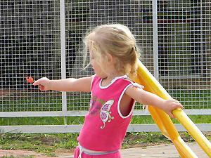 Grazielly, de 3 anos, morreu após ser atropelada por moto aquática (Foto: Arquivo Pessoal / Zildomar Lames)