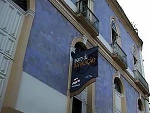Teatro da Instalação, Centro de Manaus (Foto: Reprodução TV Amazonas)