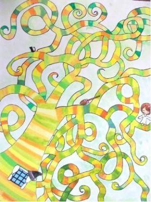 Desenhos foram feitos por alunos do ensino fundamental do Japão.  (Foto: divulgação/ Prefeitura de Bauru)