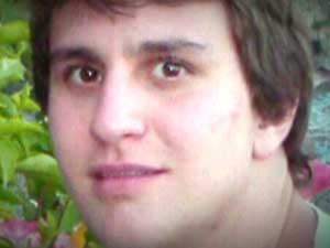 Roberto Laudisio Curti, de 21 anos, morto pela polícia de Sydney (Foto: Reprodução/TV Globo)