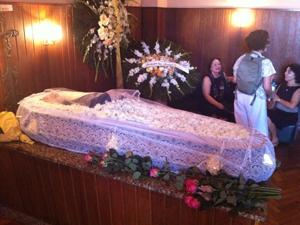 Corpo de Gilberto Velho será cremado nesta segunda (Foto: Bernardo Tabak / G1)