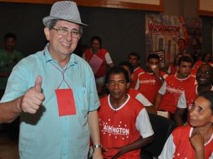 Vice-governador venceu as prévias com 123 votos (Foto: Biaman Prado/O Estado)