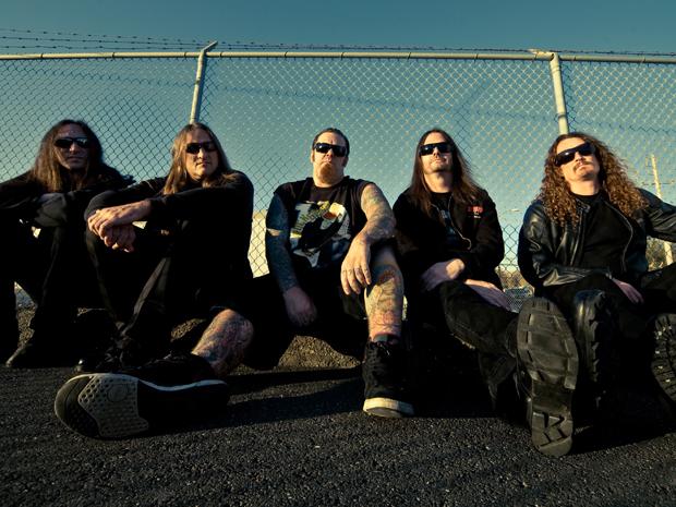 A banda californiana de thrash metal Exodus (Foto: Divulgação)