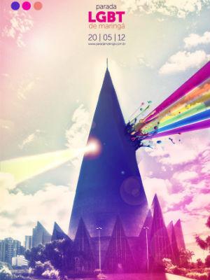 A parada gay em Maringá está marcada para 20 de maio deste ano (Foto: Divulgação/ Maringay)