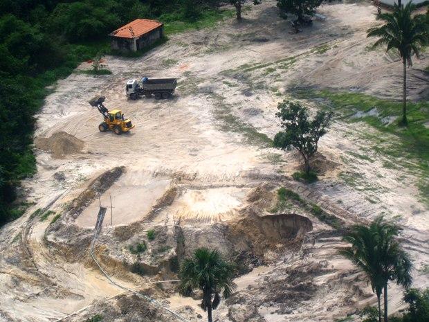 Áreas de extração ilegal de minérios serão fiscalizadas em toda Ilha de São Luís (Foto: Divulgação)