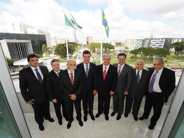 Governadores (Foto: Divulgação/ Agência de Notícias do Paraná )