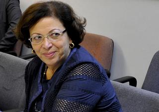 Em visita ao Senado, Ideli negou orientação do Planalto para recuo sobre CPI do caso Cachoeira (Foto: Geraldo Magela/ Agência Senado)