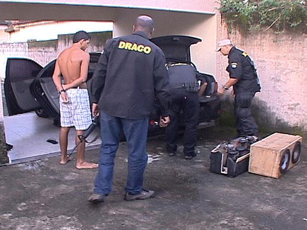 Operação em Magé (Foto: Reprodução/TV Globo)
