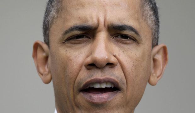 Barack Obama faz pronunciamento no jardim da Casa Branca nesta terça (17) (Foto: AP)