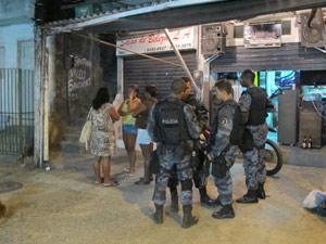 Morte na Rocinha (Foto: Marcelo Ahmed/G1)