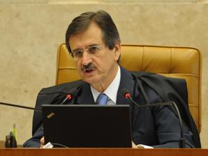 O presidente do STF e relator do caso, Cezar Peluso (Foto: Wilson Dias/ABr)