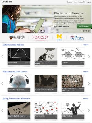 Site Coursera (Foto: Reprodução)