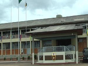 Fachada da Brigada de Infantaria de Selva, em Boa Vista (Foto: Reprodução/TV Roraima)