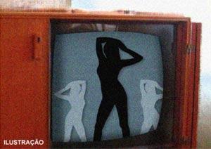 Egípcio vê pornô e descobre que atriz pornô era sua própria mulher. (Foto: Ilustração: Arte/G1)