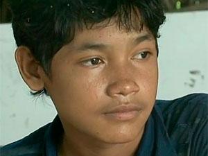 Índio pataxó precisa de sangue Bahia (Foto: Imagem TV Santa Cruz)