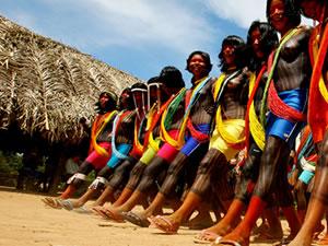 índios em Mato Grosso (Foto: Ednilson Aguiar/Secom-MT)