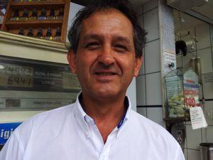 Reinaldo Cesar Souza Lopes considera o valor alto (Foto: Amanda Monteiro/ G1 ES)
