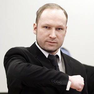 Anders Behring Breivik (Foto: AP)