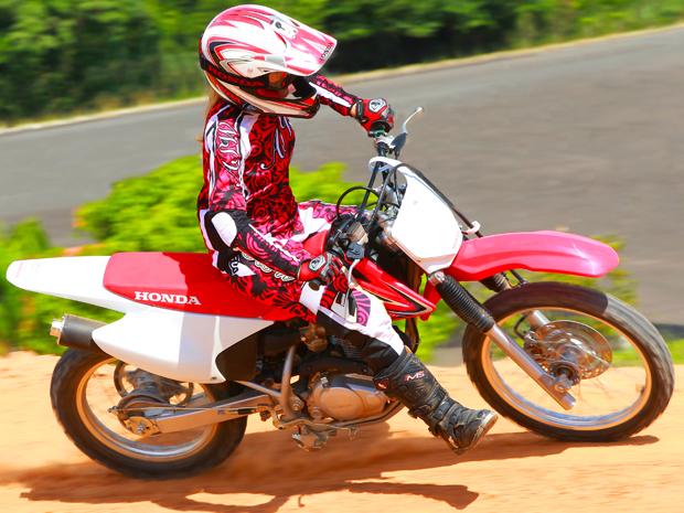 Honda CRF 150F (Foto: Caio Mattos/ Divulgação)
