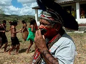 índio (Foto: Reprodução/TV Bahia)
